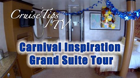 Carnival Cruise Floor Plan Cruise Tips Tv Carnival Inspiration Grand Suite Tour U79