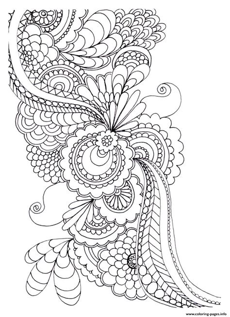 coloring pages flowers adults flower coloring pages for adults coloring home