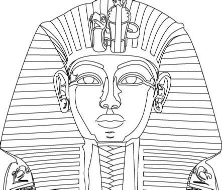 King Tut Mask Template by King Tut Vector Free Vector In Encapsulated Postscript Eps