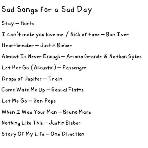 best soad songs 8tracks radio sad songs for a sad day 11 songs free
