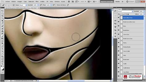 tutorial edit vscom speed art photoshop creando un robot tutorial disponible