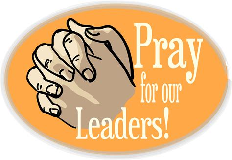 how to pray for leaders in the church