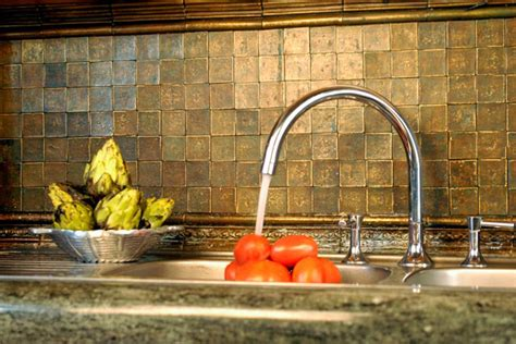 aluminum tiles backsplash aluminum tiles application photos decotone surfaces