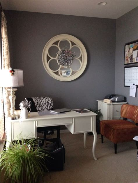 shabby chic office en mi casa pinterest