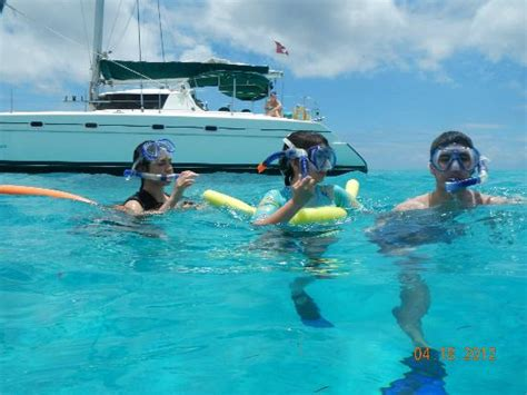 catamaran sail and snorkel antigua snorkeling fun picture of catamaran sailing antigua st