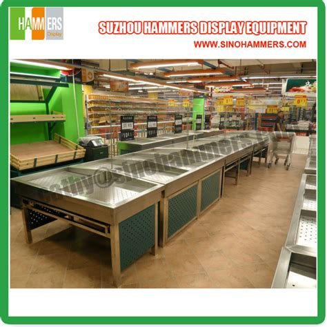 fruit rack 3 layer fruit and vegetable rack supermarket friuit and
