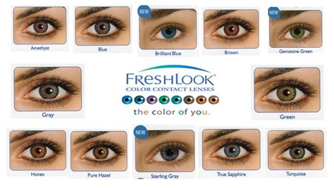 color blends freshlook color blends