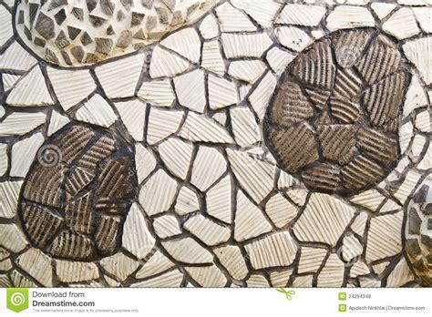 mosaico con piastrelle rotte parete mosaico dalle mattonelle di ceramica rotte