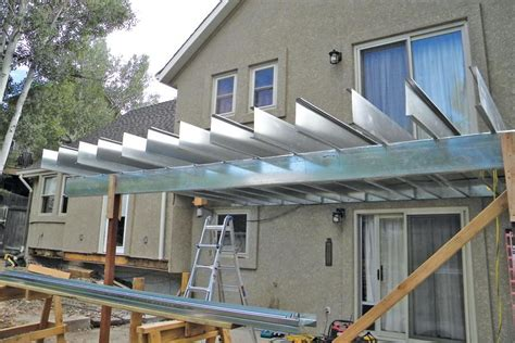 Metal Framed Car Covers by Framing Decks With Steel Joists Jlc Framing