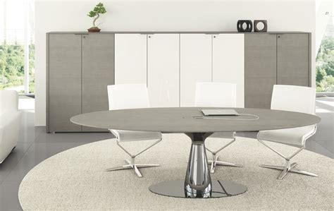 Grey Meeting Table Meta Italian Meeting Table