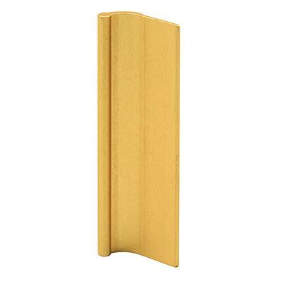 Adhesive Mirror Door Pulls - crl polished gold 7 8 quot sliding mirror door pull