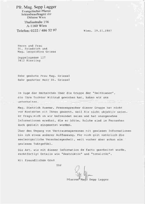 Offizieller Brief Auf Englisch Einen Brief Auf Englisch Schreiben