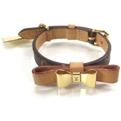 loui vuitton collar louis vuitton monogram baxter collar xs 17868