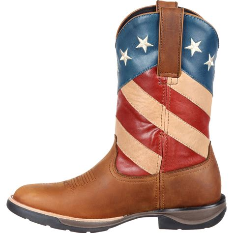 comfortable cowboy boots ladies rocky lt women s comfortable lightweight american flag