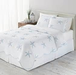 Starfish Crib Bedding Starfish House Tropical Quilt Sham Set 2 Bedding Co Uk Kitchen