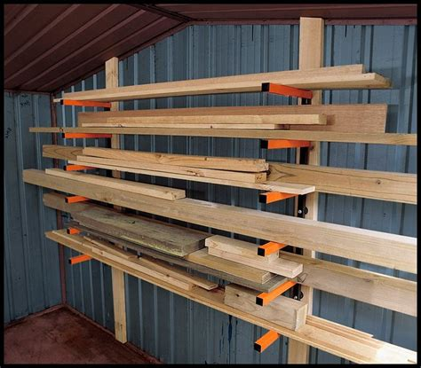 Home Depot Lumber Rack by Cl Storage Woodworking Workshop The Best