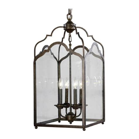 tallahassee lighting fan and blind mariana imports vintage iron four light lantern pendant