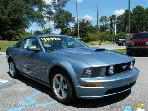 ford mustang gt premium coupe  windveil blue metallic photo   jax sports cars