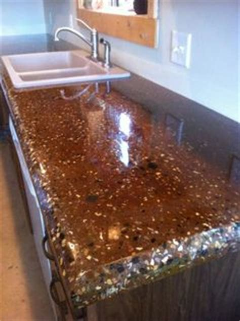 Exposed Aggregate Concrete Countertop by 1000 Images About Concrete Countertops And Other We Done On Concrete
