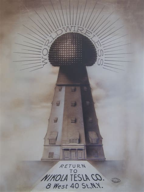 Tesla Electricity Tower Fanart Torre Wardenclyffe De Tesla Teslianos Nikola