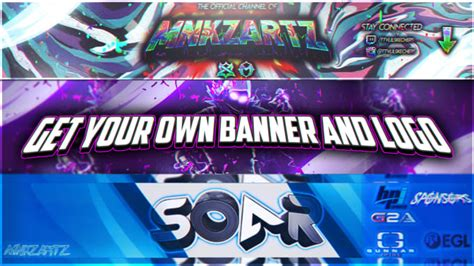 design  professional youtube banner  logo   hours