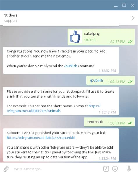 membuat bot telegram dengan python tutorial cara mudah membuat sticker pack di telegram