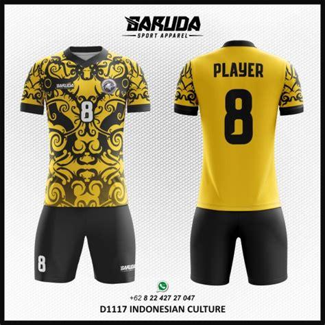 Pasang Nama Dan Nomor Punggung Printing Official Jersey 1 desain jersey bola futsal culture gambar batik garuda print garuda print