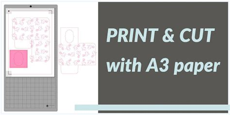 printable area a3 paper crafting quine print cut with a3 card and paper