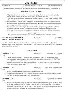 A Resume Template by Sample Resume Layout Resume Template1 Sample Resume Layout