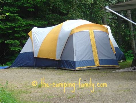 Cabin Style Tent by Cabin Style Tents Large Family Cing Tents With Lots Of