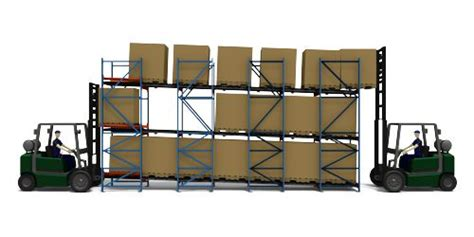 Flow Rack Systems by Pallet Flow Rack