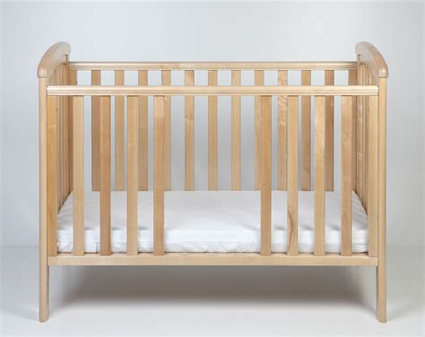 Troll Nursery Crib Nicole 120x60 Natural With Teether Troll Baby Crib