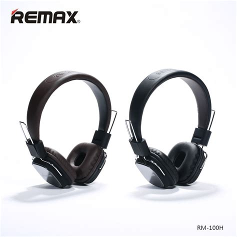 remax 100h stereo headphones for xiaomi earphone foldable