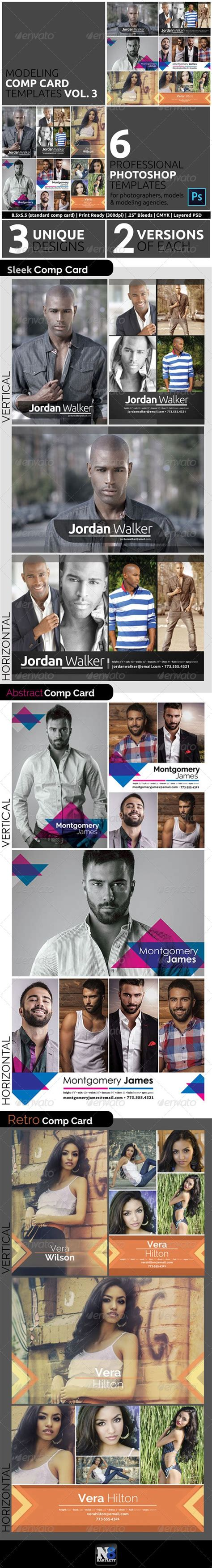 Comp Card Template Lightroom by Model Comp Card Template Kit Vol 3 Models There And