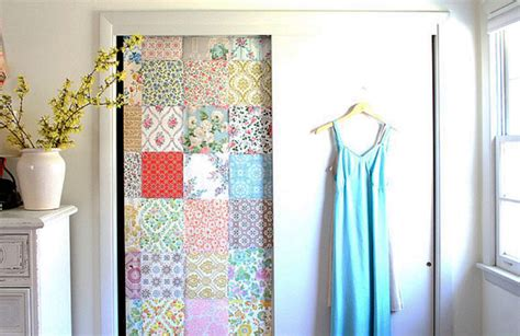Temporary Door by Removable Wallpaper Guide Freshome