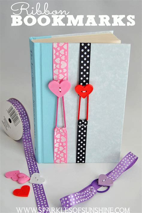 simple crafts 25 best ideas about ribbon bookmarks on easy