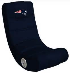 new patriots bluetooth gaming chair