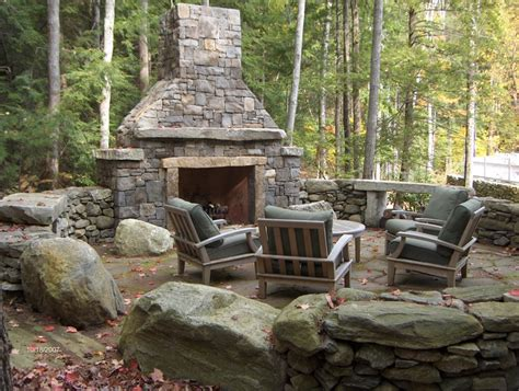 Outside Fireplace by Outdoor Fireplace D S Furniture
