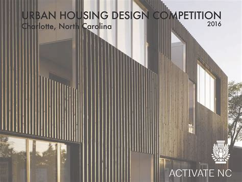urban design housing aia north carolina urban housing design competition e architect