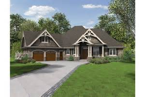 Craftsman Ranch House Plans by Home Plan Homepw76499 2233 Square Foot 3 Bedroom 2