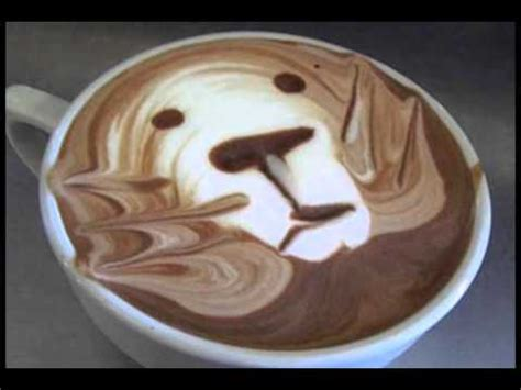 how to make designs on coffee interesting cappuccino designs youtube