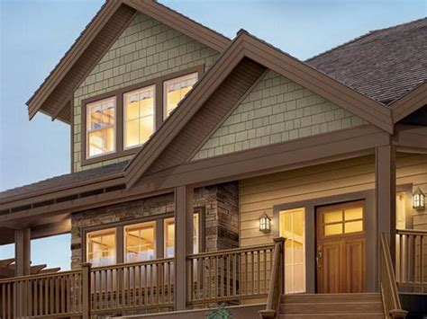 brown exterior house trim best brown vinyl siding for the home vinyl