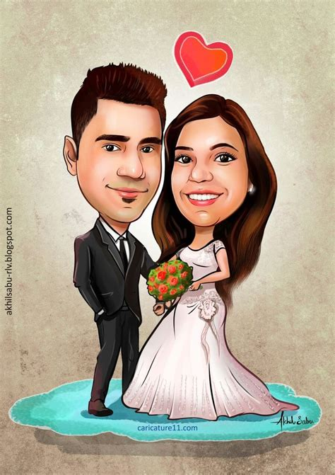 Wedding Caricature by 19 Best Wedding Caricature Images On