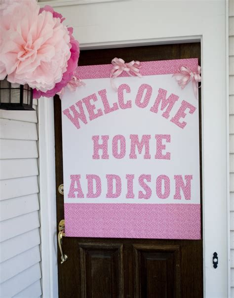 Welcome Home Baby Boy Decorations The 25 Best Welcome Home Baby Ideas On Pinterest Welcome Baby Boy Babyshower