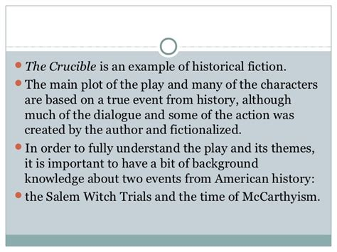 primary themes of the crucible salem mccarthyism