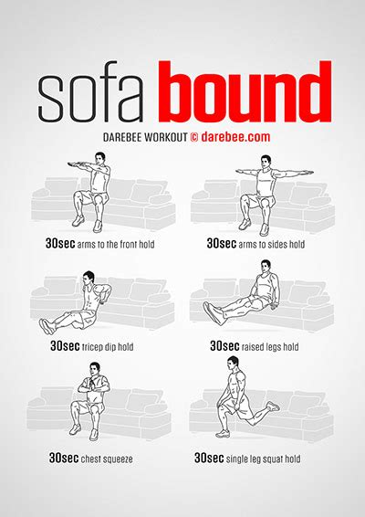 couch workout sofa workouts