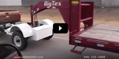 5th wheel tow dolly the automated safety hitch trailer hitch gooseneck