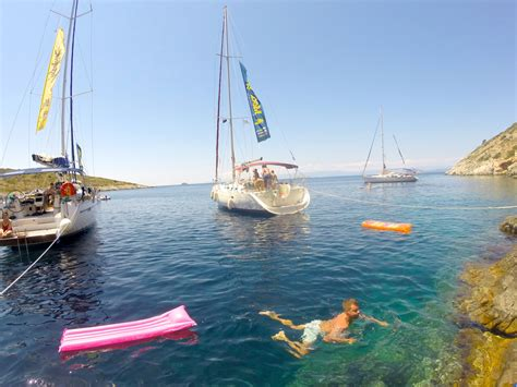 sailing weekend greece how to rent your own yacht and sail around the greek islands