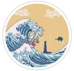 cartoon ocean waves    gentle crashing