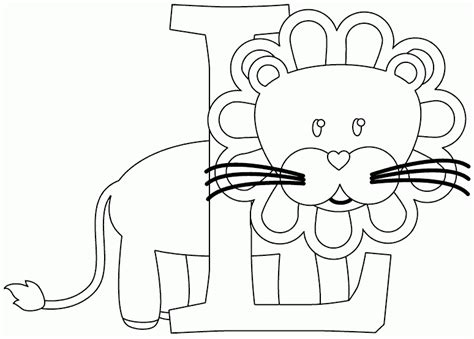 L For by L Is For Coloring Page Coloring